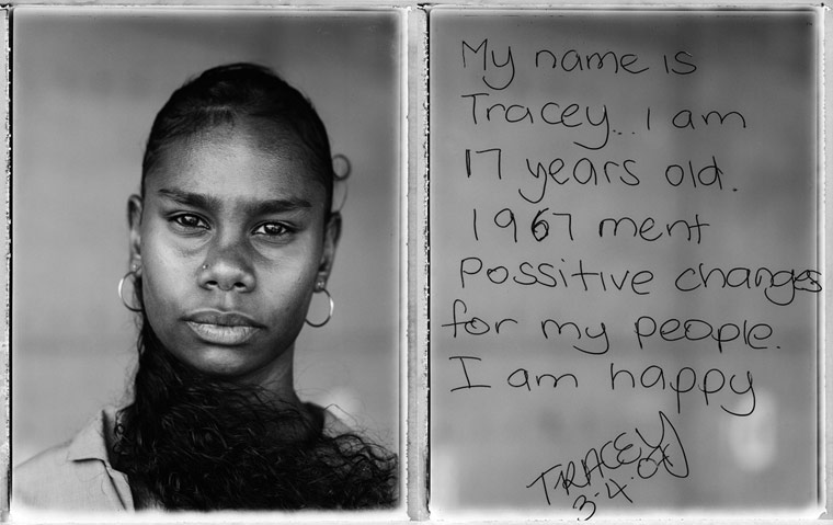 My name is Tracey... I am 17 years old. 1967 ment possitive changes for my people. I am happy. TRACEY 3-4-07