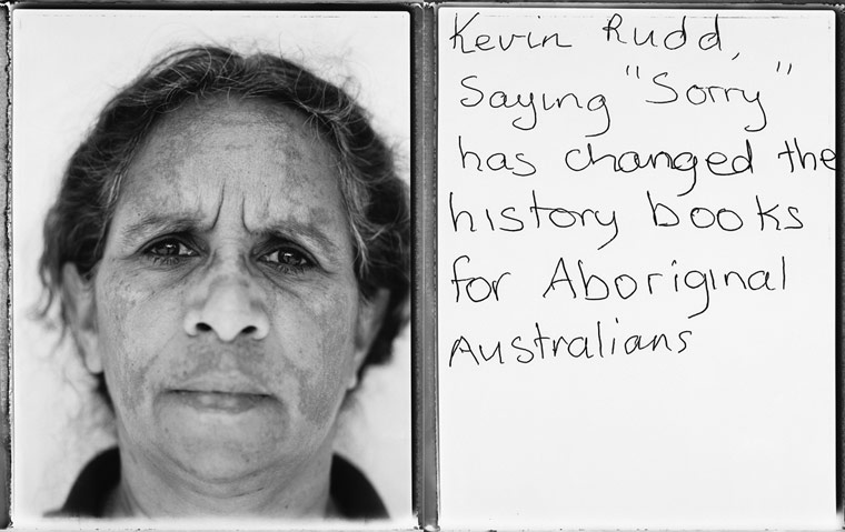 "Kevin Rudd, saying ""Sorry"" has changed the history books for Aboriginal Australians"